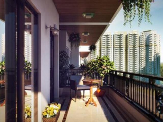 Ace City Flat balcony