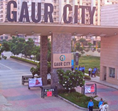 Gaur City Main Gate